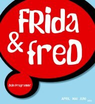 ApRIL 2013 - FRida & freD