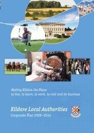 Kildare Local Authorities Corporate Plan 2009 - 2014 - Kildare.ie