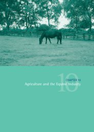 Agriculture and the Equine Industry - Kildare.ie