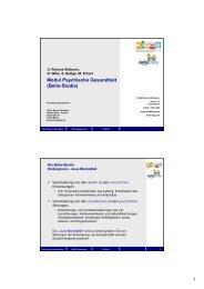 Modul Psychische Gesundheit (Bella-Studie) - Kinder-Umwelt ...