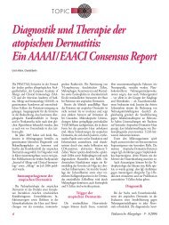 Diagnostik und Therapie der atopischen Dermatitis - Kinder-Umwelt ...