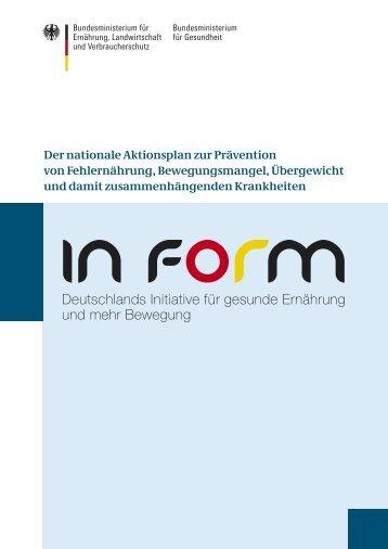 Der nationale Aktionsplan zur Prävention von ... - VDOe