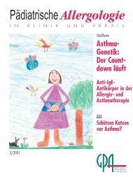 Pädiatrische Allergologie - Kinder-Umwelt-Gesundheit