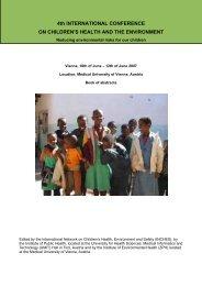 Designing and building healthy places for children - Kinder-Umwelt ...