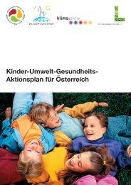 Kinder-Umwelt-Gesundheits- Aktionsplan für Österreich
