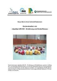 Apetitja trifft Kifi - Ernährung und Kinderfitness - Kinder-Umwelt ...