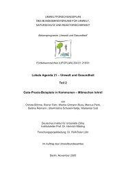 Lokale Agenda 21 - Kinder-Umwelt-Gesundheit