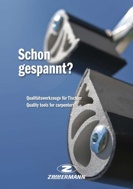 Download Katalog 2012 - Zimmermann Maschinen