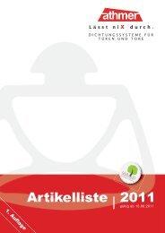Artikelliste | 2011