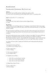 Rosenkranzandacht: Freudenreiche Geheimnisse - Kirchensite