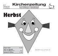 Kirchenzeitung 2012-08 Oktober - Kirchetreysa.de
