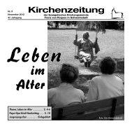 Kirchenzeitung 2012-09 November - Kirchetreysa.de