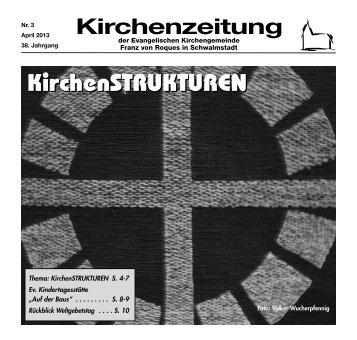 Kirchenzeitung 2013-03 April - Kirchetreysa.de
