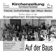 Kirchenzeitung 2013-01 Februar - Kirchetreysa.de