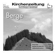 Kirchenzeitung 2011-06 August - Kirchetreysa.de