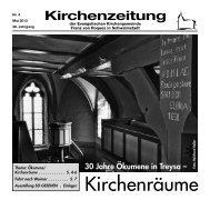 Kirchenzeitung 2013-04 Mai - Kirchetreysa.de