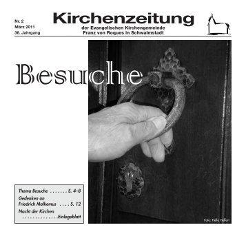 Kirchenzeitung 2011-02 März - Kirchetreysa.de