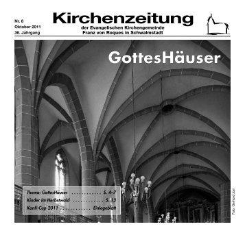 Kirchenzeitung 2011-08 Oktober - Kirchetreysa.de