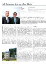 Adelholzener Alpenquellen GmbH - KIR ROYAL ...
