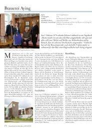 Brauerei Aying - KIR ROYAL - GENIESSERJOURNAL. Bayern ...