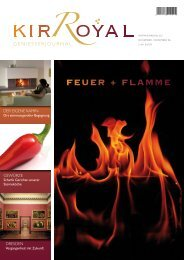 FEUER + FLAMME - KIR ROYAL