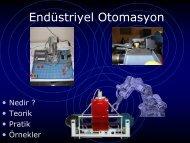 Endüstriyel Otomasyon - Dokuz Eylül Üniversitesi