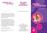 Flyer QE englisch.indd - Fachbereich Kindertagesstätten - Zentrum ...