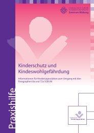 Praxishilfe zu Kinderschutz und Kindeswohlgefährdung ...