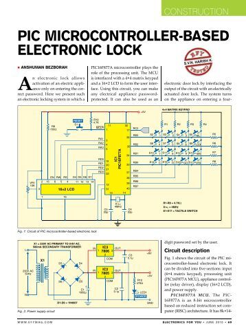 Underground cable fault detector using microcontroller