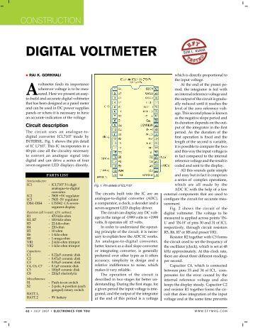 pic based digital voltmeter Pic based digital voltmeter ppt,ask latest information,abstract,report,presentation (pdf,doc,ppt),pic based digital voltmeter ppt technology discussion,pic based digital voltmeter ppt paper presentation details.