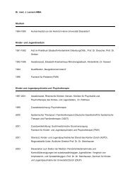 Dr. med. J. Leeners MBA Studium 1984-1990 ... - KJP Graubünden
