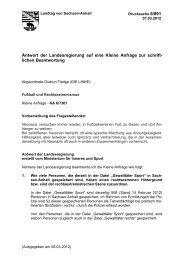 Fußball und Rechtsextremismus - Der Landtag von Sachsen-Anhalt