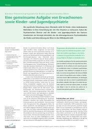 Bündner Präventionsprogramm für Kinder ... - KJP Graubünden