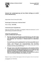 Zuweisungen an Kommunen in Sachsen-Anhalt - Der Landtag von ...