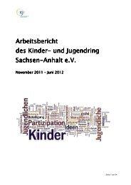 Jahresbericht 2012 - Kinder