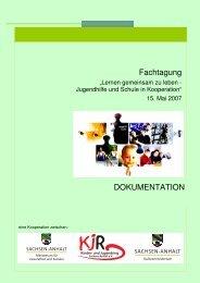 Lernen gemeinsam zu leben - Jugendhilfe und ... - Sachsen-Anhalt