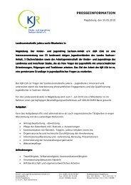 Landeszentralstelle juleica sucht Mitarbeiter/in - Kinder