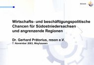 Dr. Gerhard Prätorius: Wirtschafts - Klaus Schneck