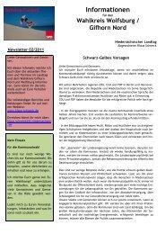 Newsletter 02/2011 - Klaus Schneck