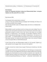 Rede vom 10.11.2011 - Klaus Schneck