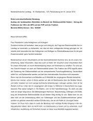 Rede vom 18.01.2012 - Klaus Schneck