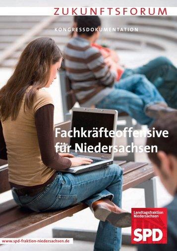 Fachkräfteoffensive für Niedersachsen - SPD-Fraktion im ...