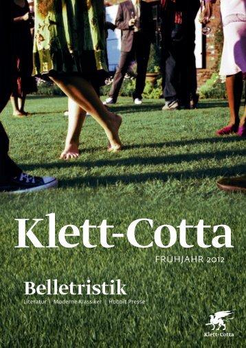 Belletristik - Klett-Cotta