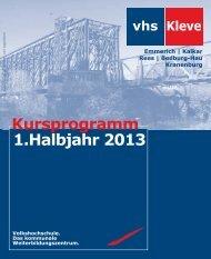 Das Programmheft der Volkshochschule 1. Halbjahr 2013 als pdf ...