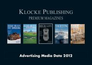 Advertising Media Data 2012 - Klocke Verlag GmbH