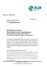 2013-01-30_KLJB_Bayern_LEP-Gipfel_Kritik