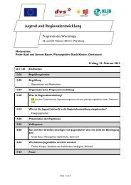 Programm - KLJB