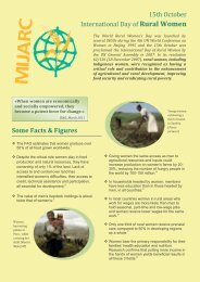 Some Facts & Figures 15th October International Day of ... - KLJB