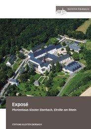 Expose Pfortenhaus 2013.indd - Kloster Eberbach
