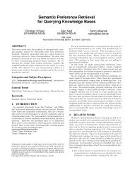 Paper - Knowledge Management Group, Institute AIFB, KIT
